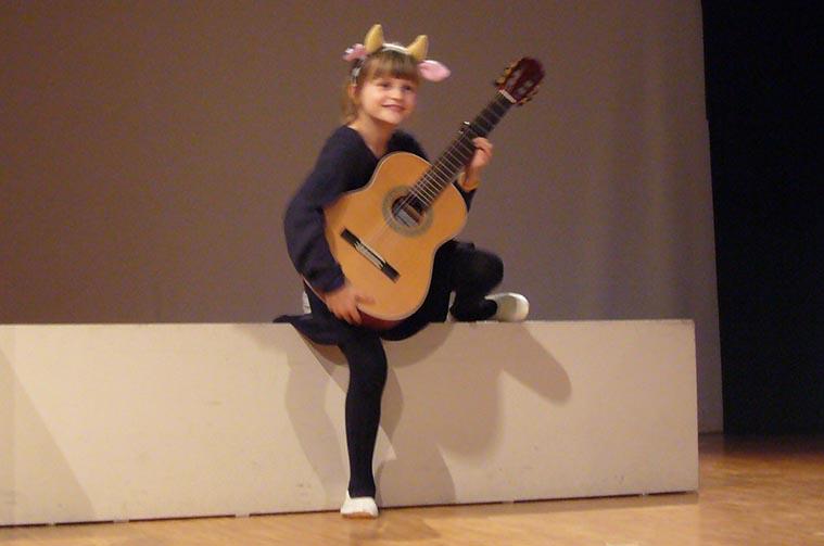Sophie macht Musik